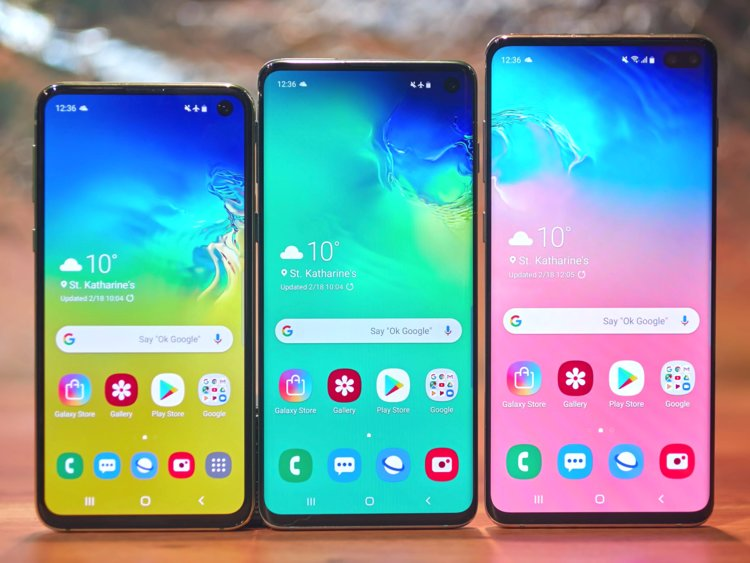 Samsung Galaxy S10, S10 Plus and S10e - New Phone 2019 List