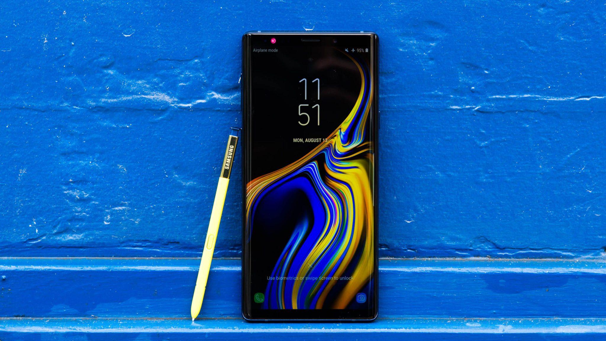 Samsung Galaxy Note 9 - 10 Best Smartphone Camera 2019 List