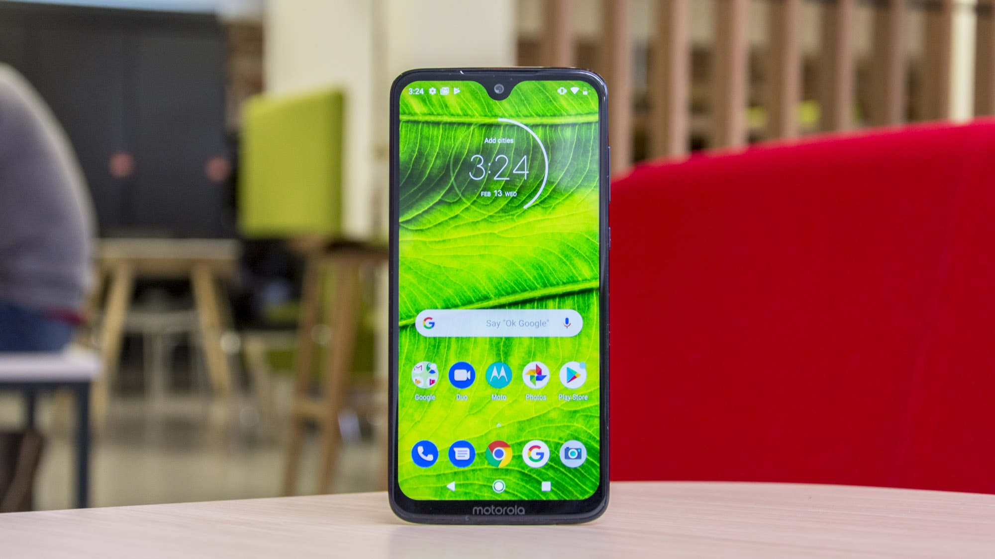 10. Moto G7 Plus – The Best Smartphone of 2019 Among the Cheap Options