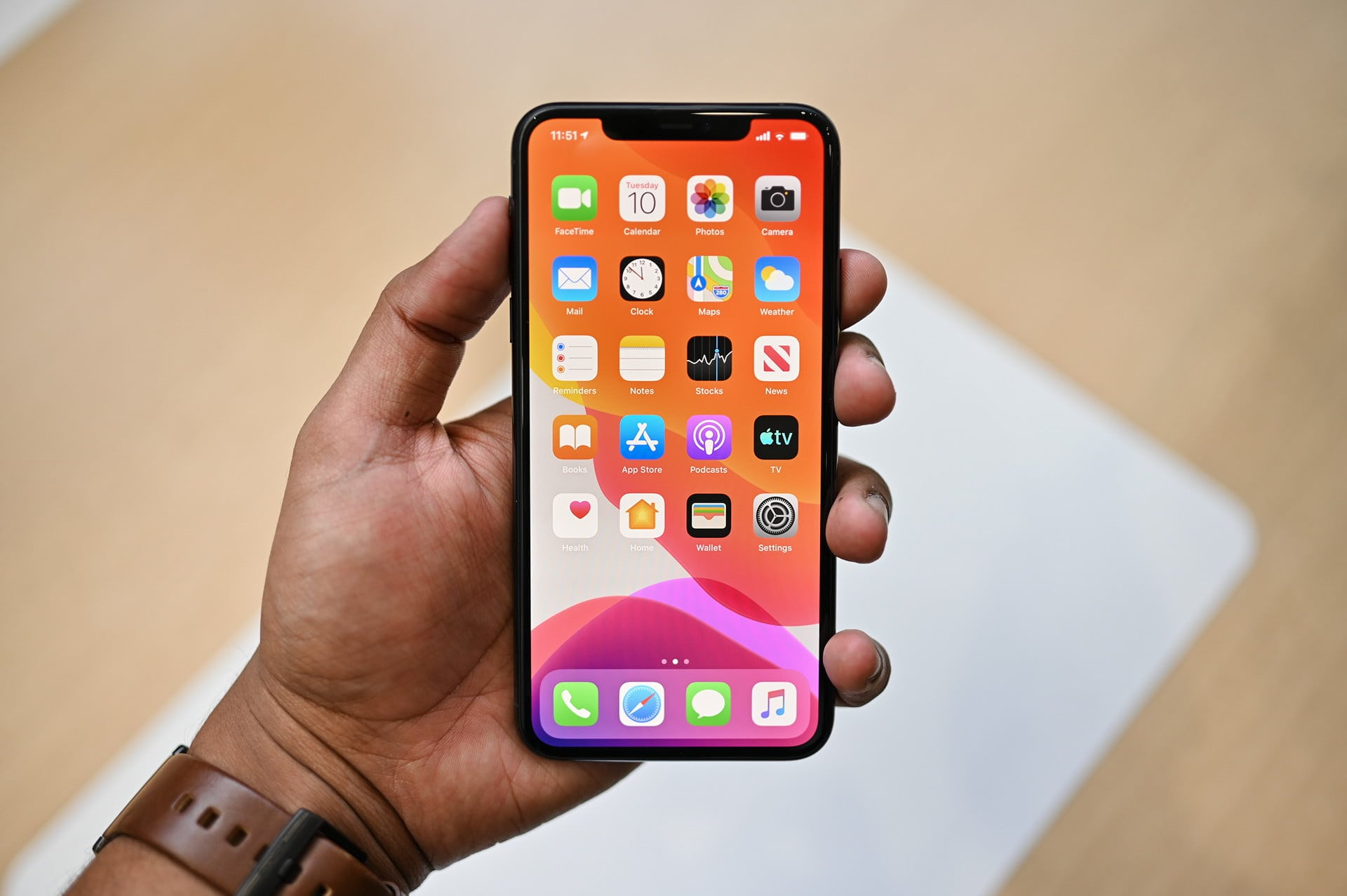 5. iPhone 11 Pro Max – Best for Hardware and Battery Performance