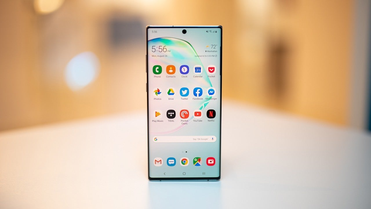 6. Samsung Galaxy Note 10+ – The Best Android Phablet of 2020